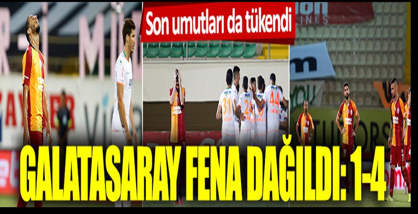 Son umutları da tükendi! Galatasaray fena dağıldı