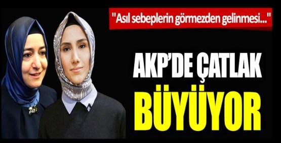 """AKP'de çatlak büyüyor: """"Asıl sebeplerin görmezden gelinmesi.."""