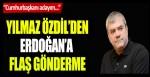 """Yılmaz Özdil'den Erdoğan'a flaş gönderme """"Cumhurbaşkanı adayım…"""""""