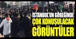 İstanbul Fatih Aksaray Meydanı'nda Özgür Suriye Ordusu bayraklarıyla eylem!
