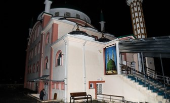 Ankara'nın Çubuk ilçesinde bir camiye yıldırım düştü