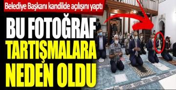 Bursa Büyükşehir Belediye Başkanı Alinur Aktaş kandilde açılışını yaptı! Bu fotoğraf tartışmalara neden oldu