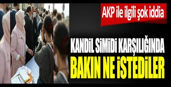 AKP ile ilgili şok iddia! Kandil simidi karşılığında bakın ne istediler