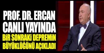Prof. Dr. Ahmet Ercan canlı yayında Ege'de bir sonraki depremin büyüklüğünü açıkladı