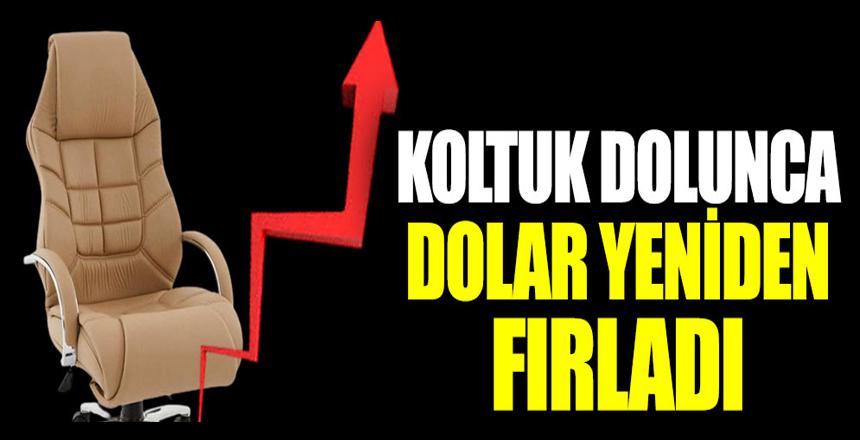 Koltuk dolunca dolar yeniden fırladı