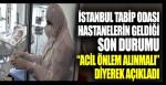 İstanbul Tabip Odası hastanelerin geldiği son durumu acil önlem alınmalı diyerek açıkladı