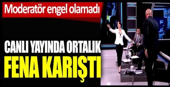 Canlı yayında ortalık karıştı, Haber Global'de Erdal Aksünger ile Serkan Toper birbirine girdi