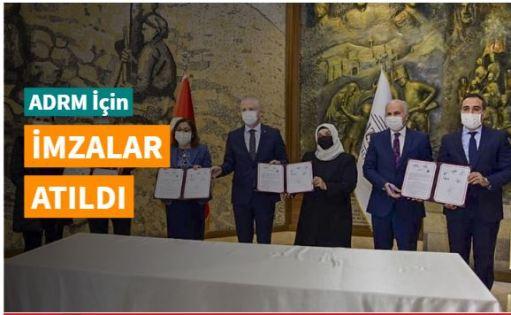 Gaziantep'te bir ilk: Aile ve Dini Rehberlik Merkezi için imzalar atıldı