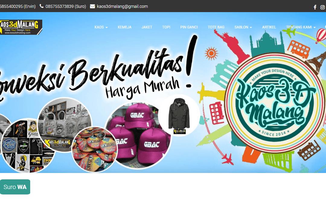 KAOS3DMALANG.COM