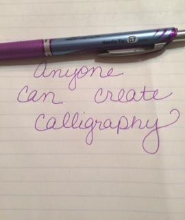calligraphy prep