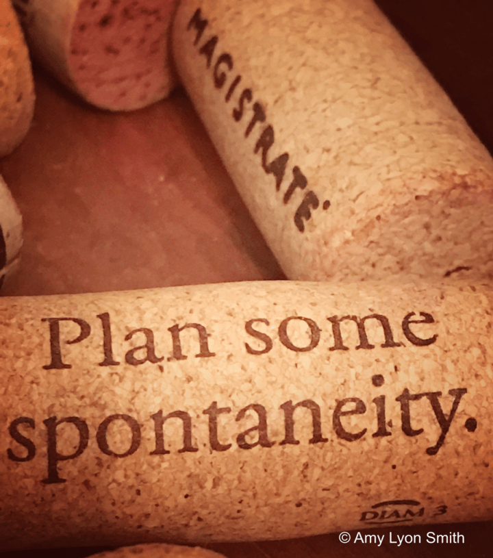 Irony Wine Cork macro photo