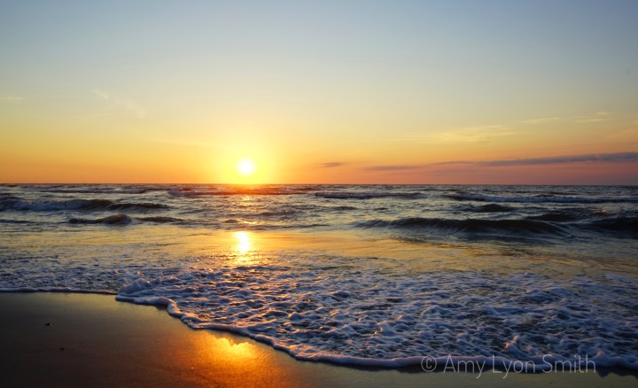 Carolina Beach North Carolina Sunset