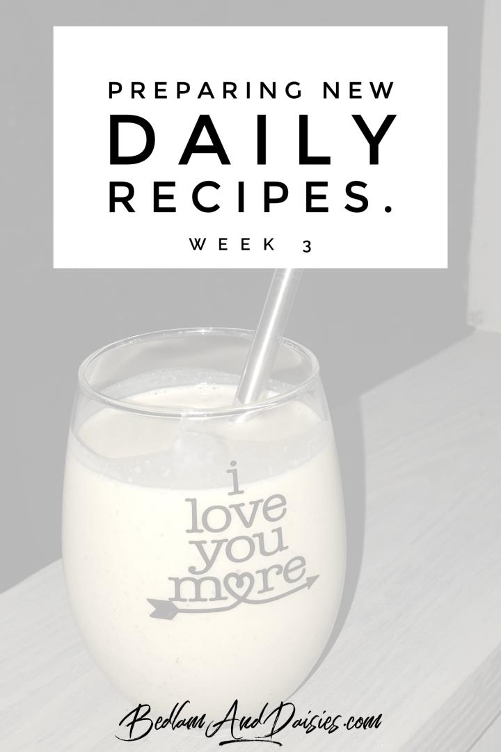Recipes Tried In November – Round 3