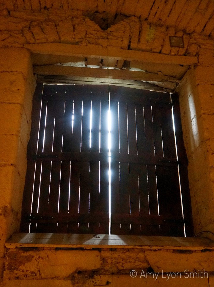 One of the exhibitions at Edinburgh Castle is Prisons of War. It is a re-creation that shows what life was like for the prisoners of war.