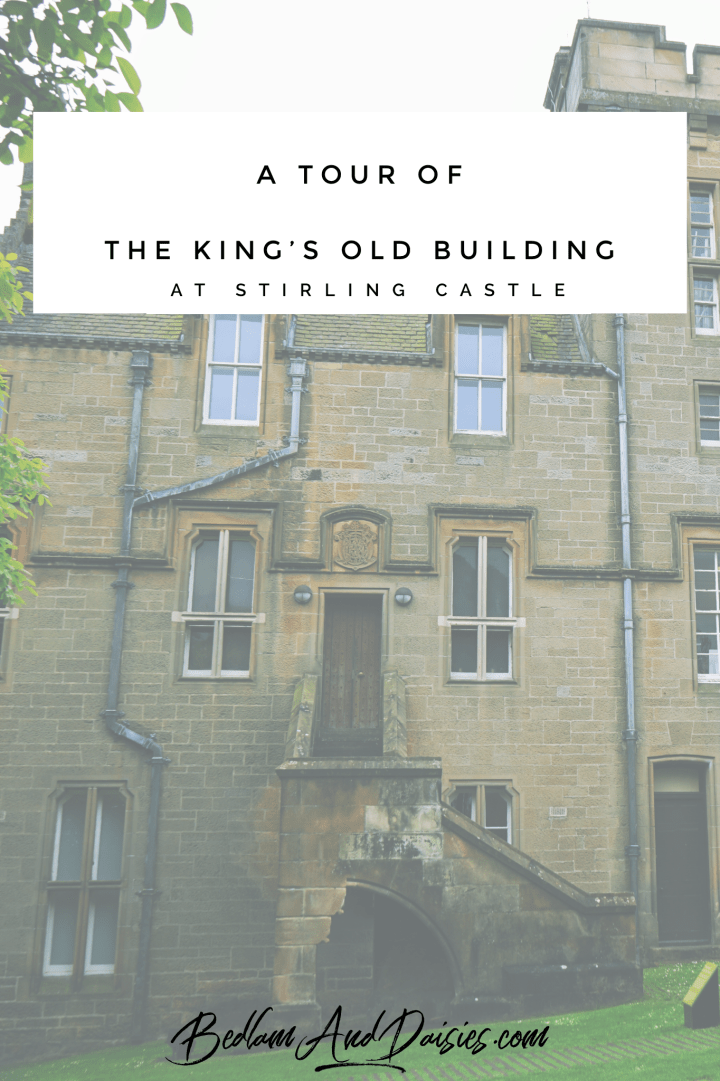 A tour of the King's Old Building at Stirling Castle