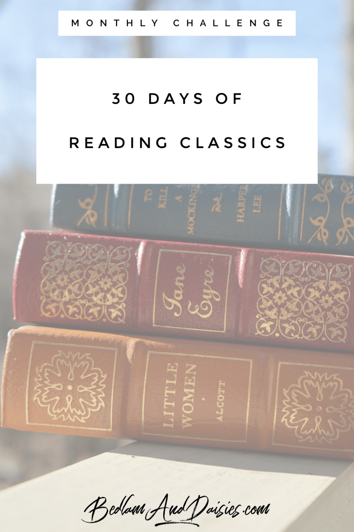 30 Days of Reading Classics