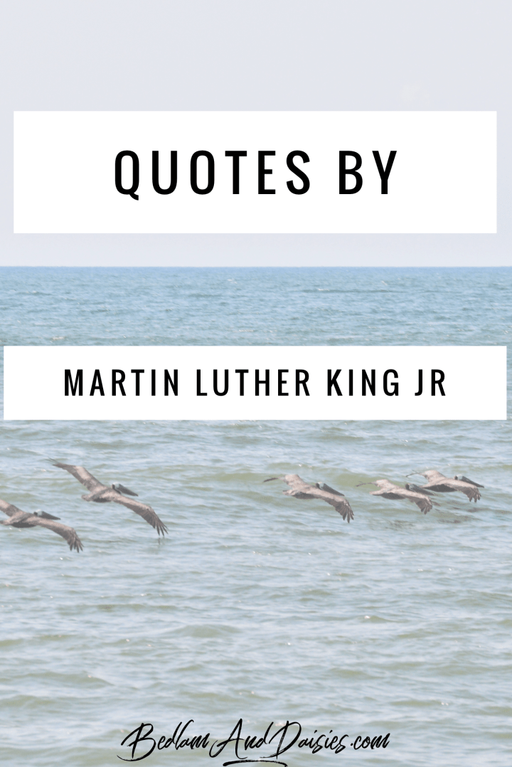 Quotes by Martin Luther King Jr.