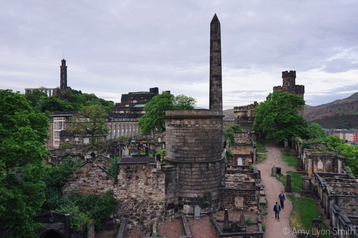 Old Calton Burial Ground Cemetery in Edinburgh Scotland