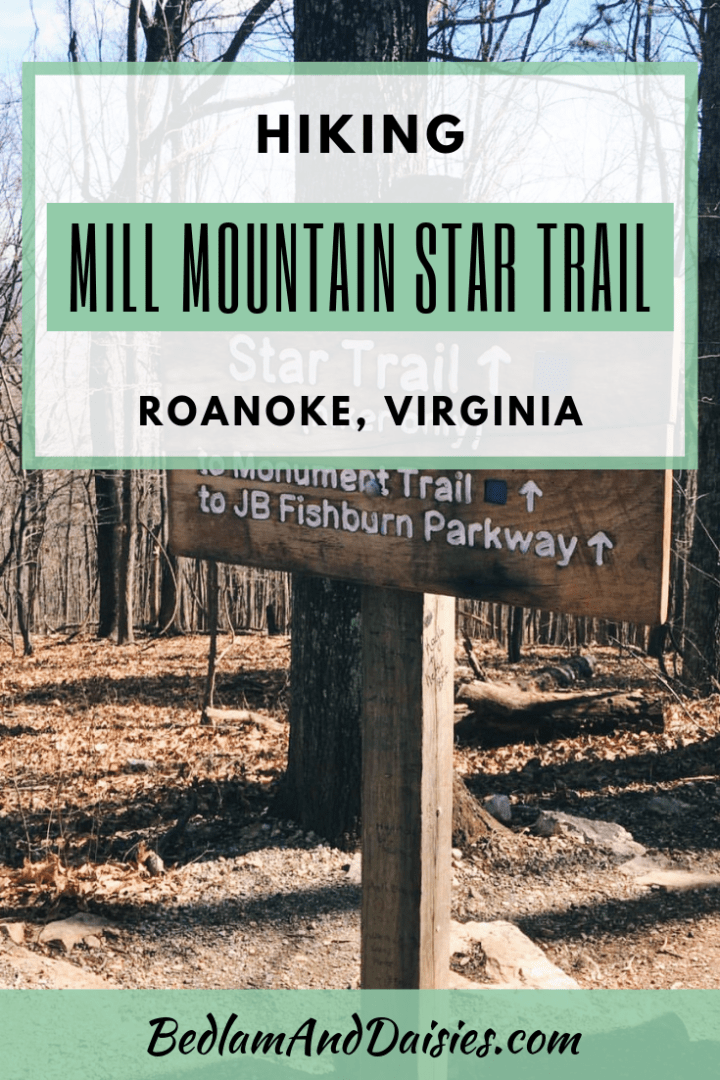 Hiking Mill Mountain Star Trail
