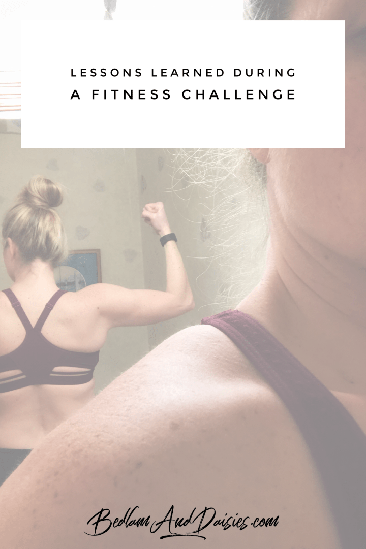 Lessons Learned During a Fitness Challenge