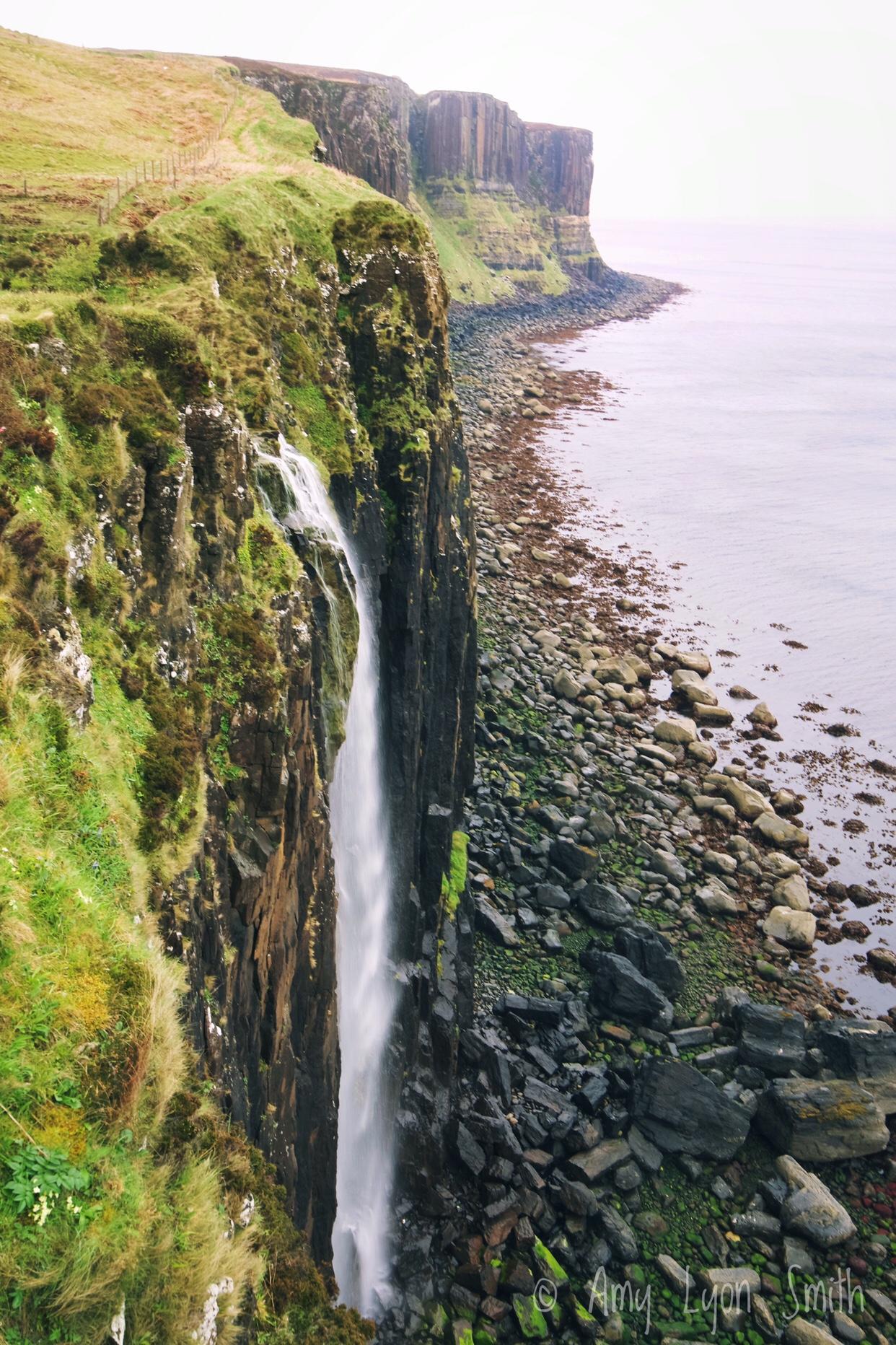 Mealt Falls at Kilt Rock Scotland