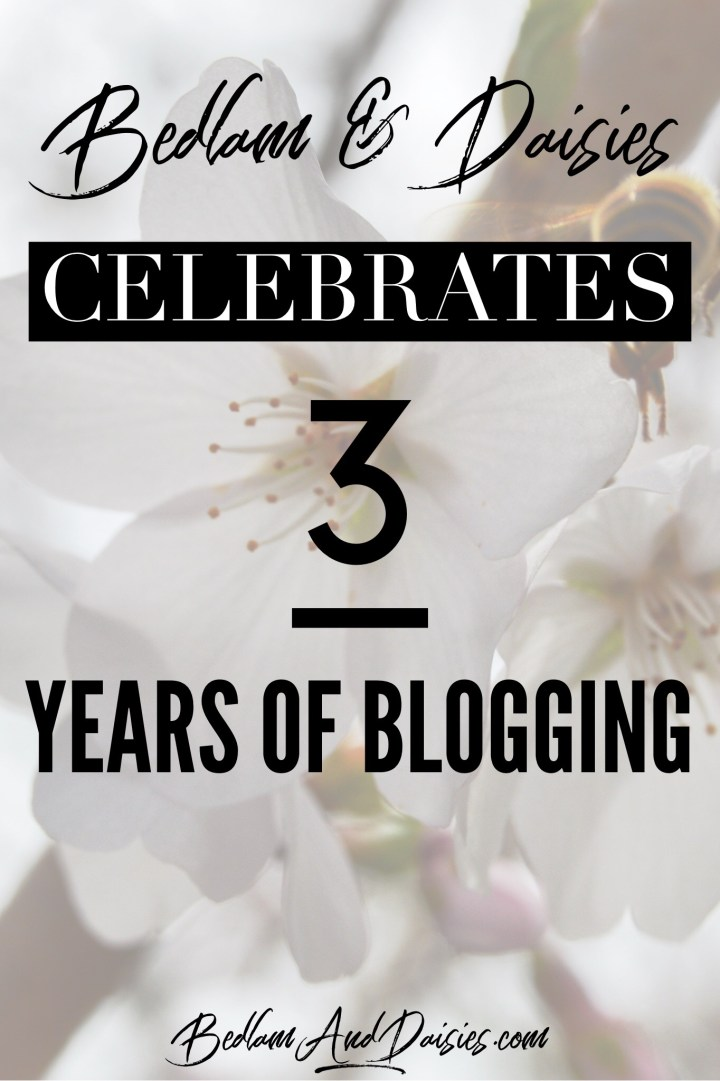 Three Years of Blogging​