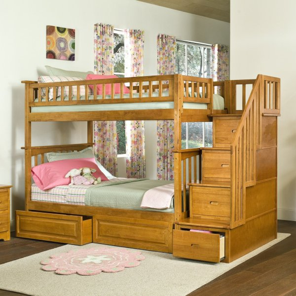 Bedroom Decorating Ideas with Bunk Bed