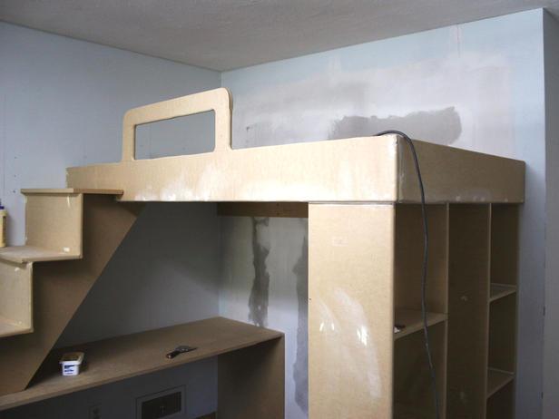 loft bed plans metric