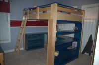 Free Loft Bed Plans Twin