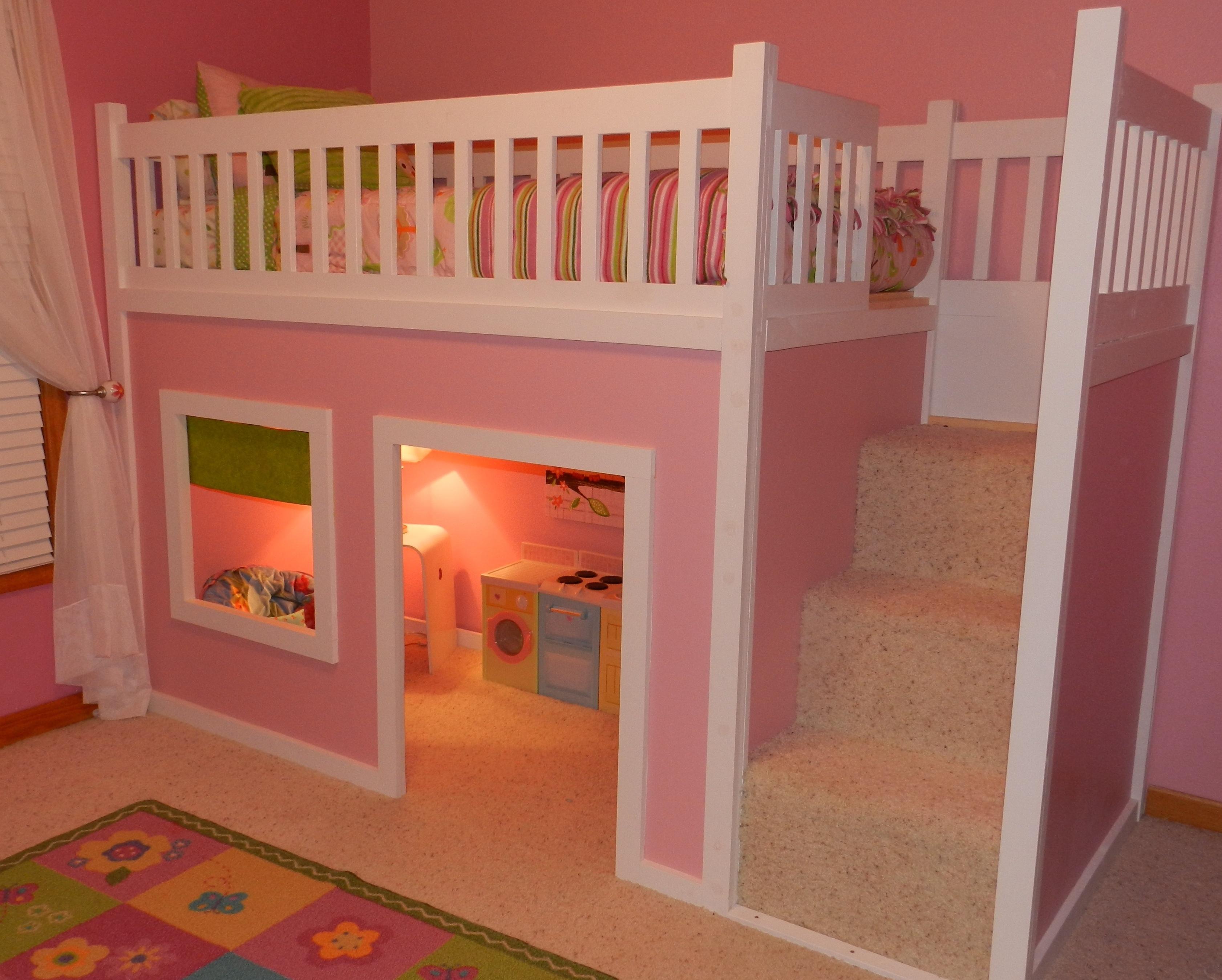 Kids Loft Bed Plans  Bunk Beds  Distinctive And Stylish