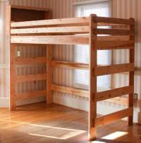 Woodwork Loft Bed Plans Woodworking PDF Plans