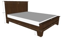 made by design: Queen bed frame plans free