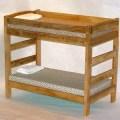 Simple bunk bed plans bed plans diy amp blueprints