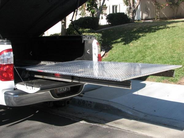 Truck Bed Slide Plans Diy & Blueprints