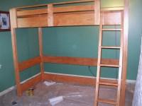 Cute Bunk Loft Bed Plans Photos - Home Living Now | 66635