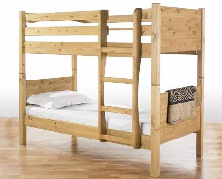 Simple 2×4 Bunk Bed Plans