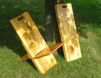 Wooden Folding Camp Chair Plans, Baltic Birch Plywood ...