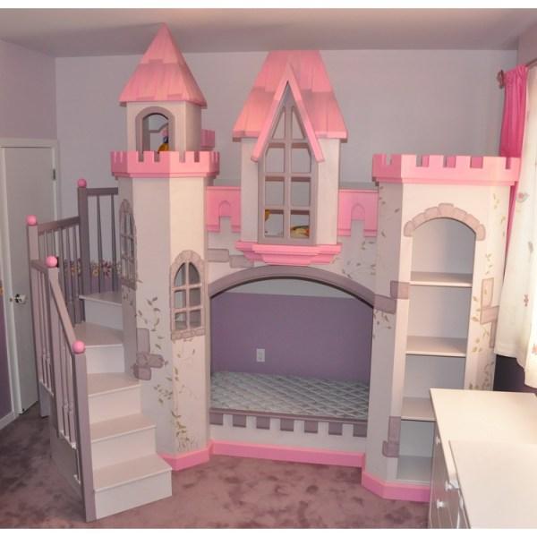 Castle Bunk Bed Plans Diy & Blueprints