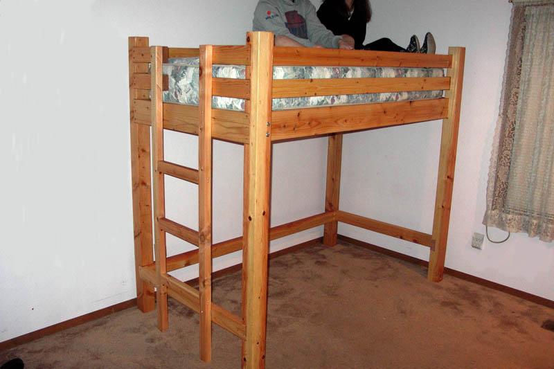 child loft bed woodworking plan