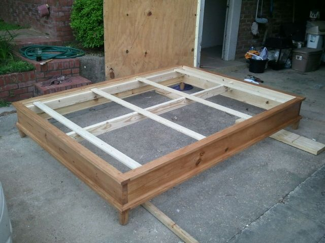 Queen Size Platform Bed Plans | BED PLANS DIY & BLUEPRINTS