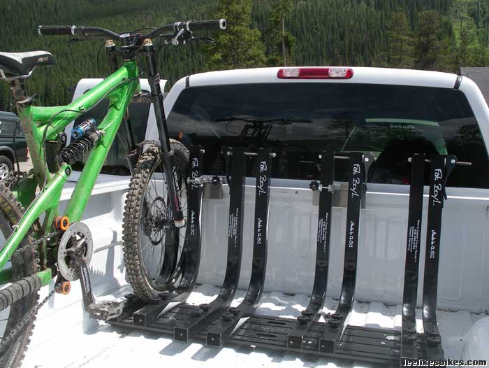 Truck Bed Bike Rack Systems