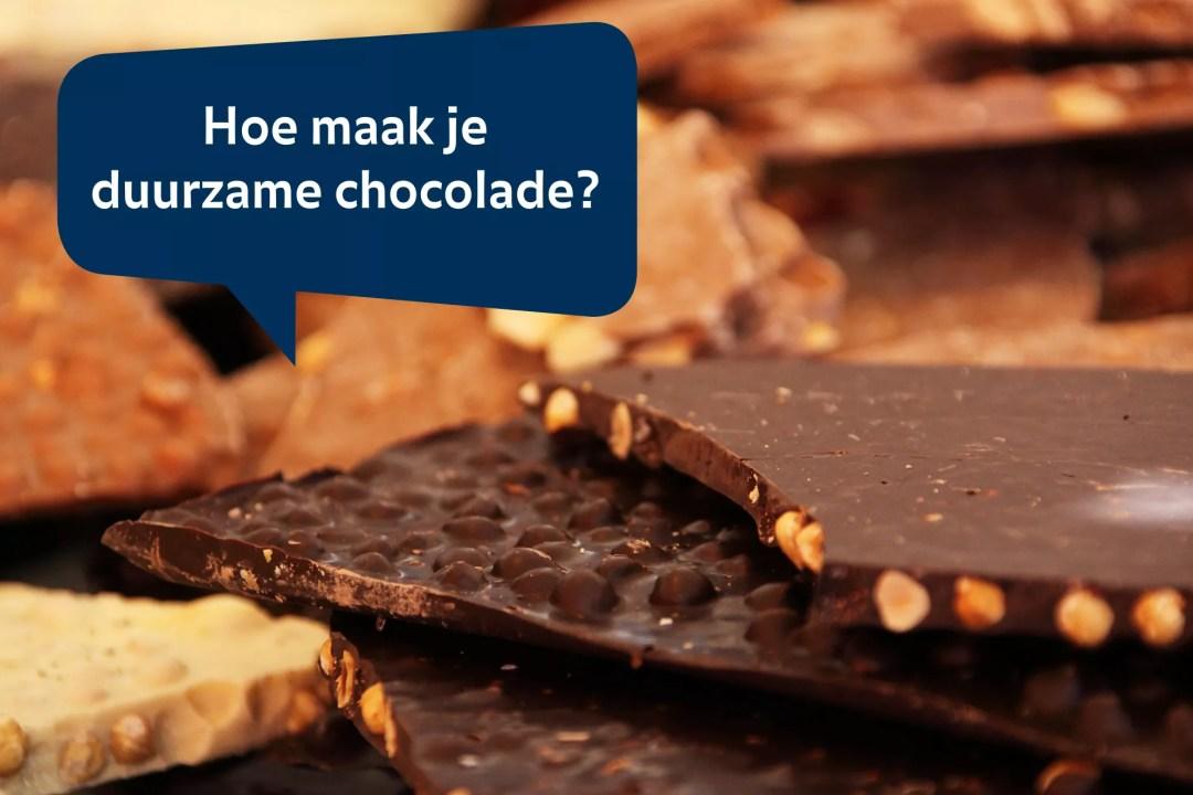 32 duurzame chocolade