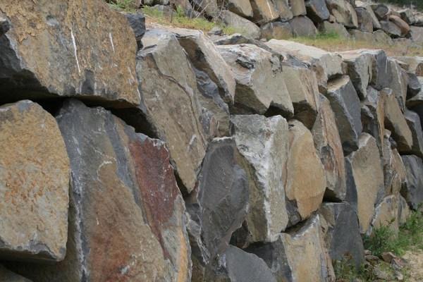 Basalt Stone Columns