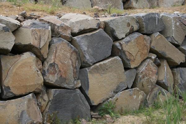 Black Basalt Columns