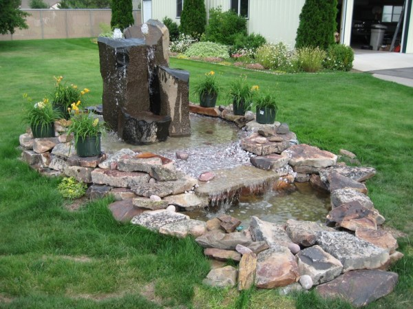 install large water feature