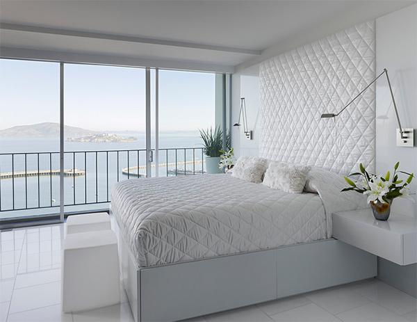 15 Modern White Bedroom Design Ideas - Bedroomm