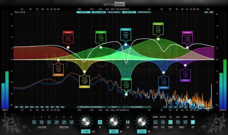 TENQ  Free Parametric Equalizer VST Plugin For Windows