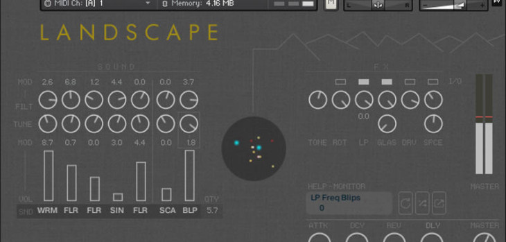 Landscape Is A Free Kontakt Library By Cinematique Instruments
