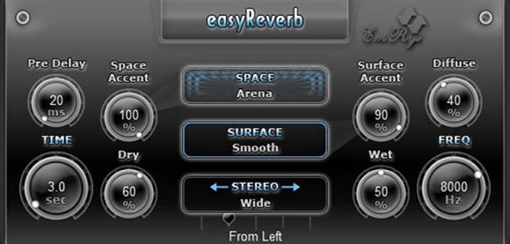 Free easyReverb VST/AU Plugin Released By SaschArt