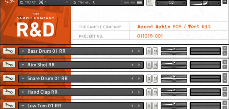 Free Round Robin 808 Kit Released By The Sample Company